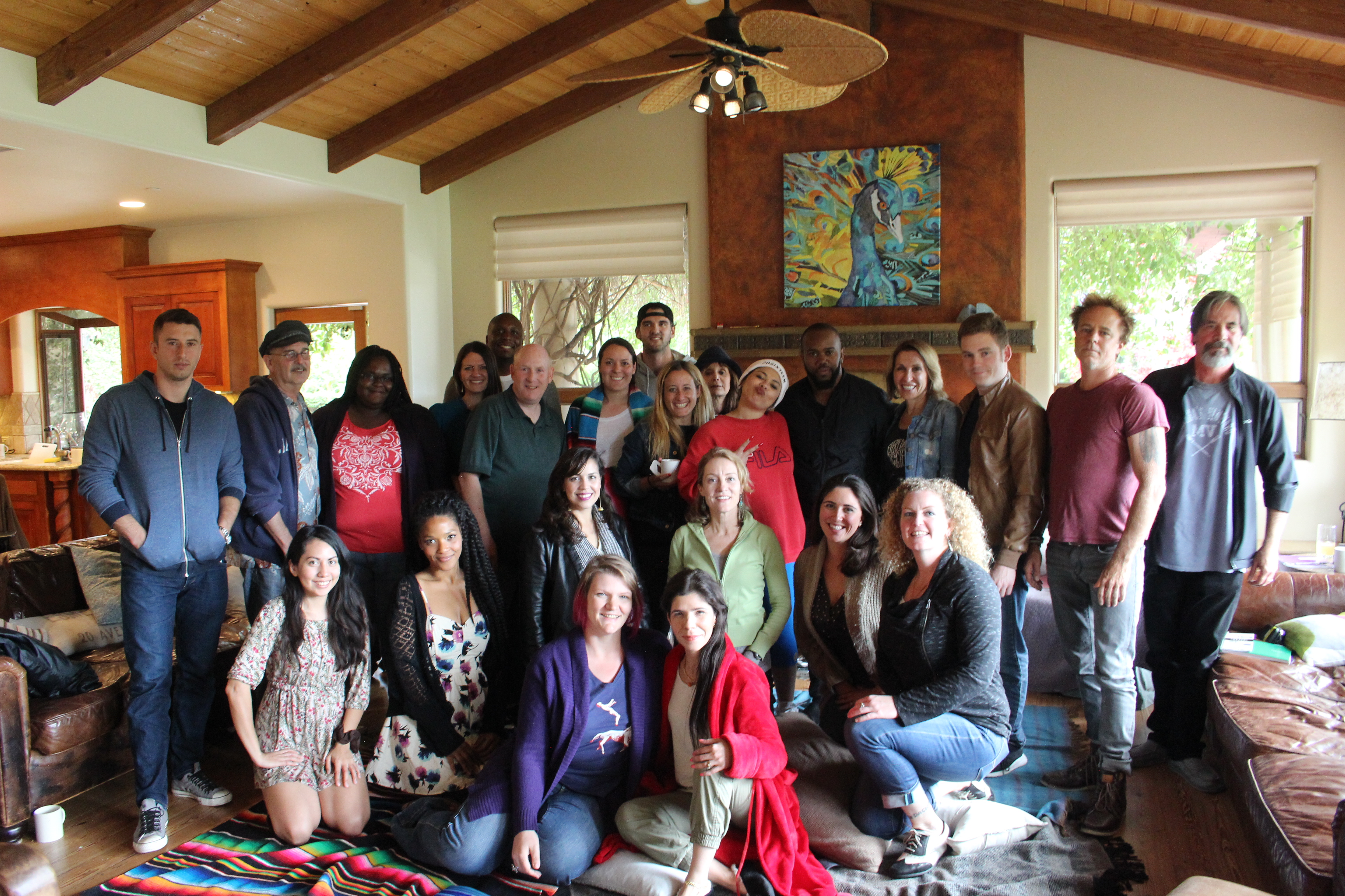 2016 Songwriting Retreat Photo