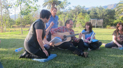 Songwriting in nature