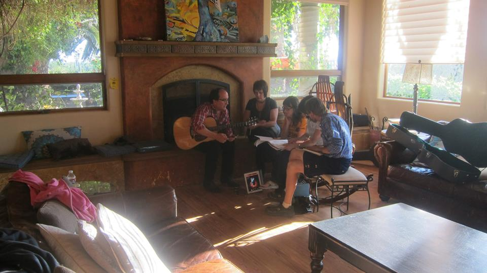Group Songwriting Session