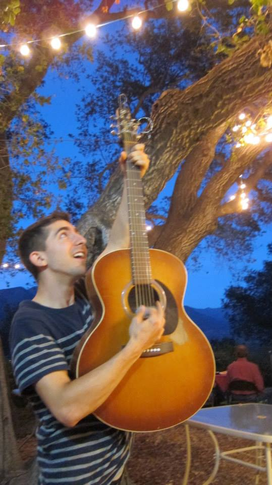 Guitar in the Moonlight.