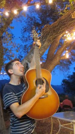 Guitar in the Moonlight.