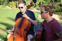 Cello and Guitar Performance
