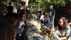 Songwriting Camp Group Lunch