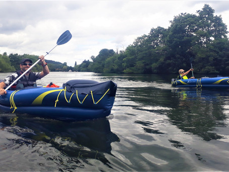 A River Thames Canoe Adventure