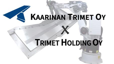 Trimet Holding Oy ostanut koko Kaarinan Trimet Oy:n osakekannan