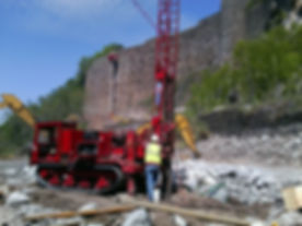 Niagara River Gorge Geotechnical Drilling