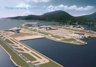 Three-Runway System Project at the Hong Kong International Airport