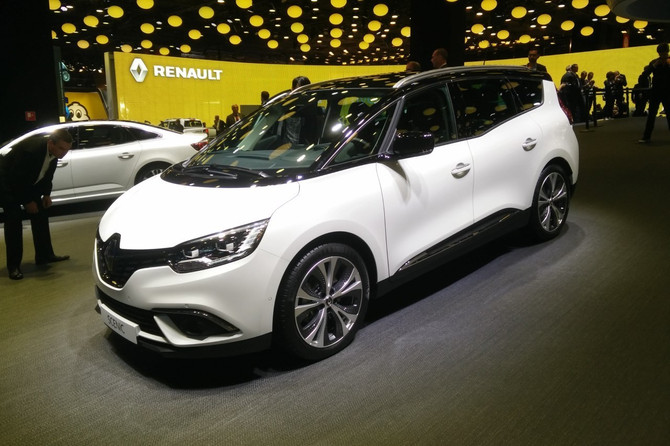 Retour sur le Mondial de l'auto à Paris en 2016 avec le Renault Grand Scénic