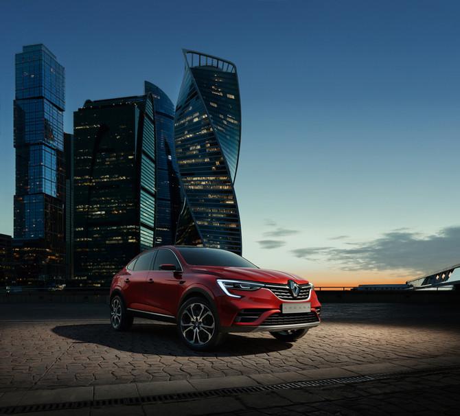 PREMIERE MONDIALE: LE SHOW CAR RENAULT ARKANA RÉVÈLE AU SALON AUTOMOBILE INTERNATIONAL DE MOSCOU 201