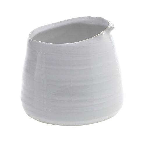 """White Juno Pot 4"""""""