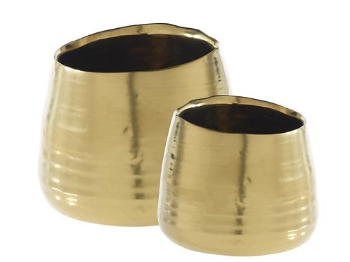 """Gold Juno Pot 4"""" & 6"""""""