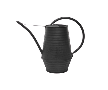 Black Industrial Watering Can 800mL