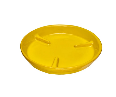 "Frida Saucer 7"" in Yellow"