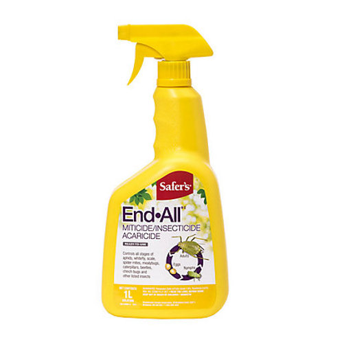 Safers Insecticide 'End-All' Spray 1L