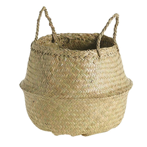 Natural Woven Plant Basket Vancouver