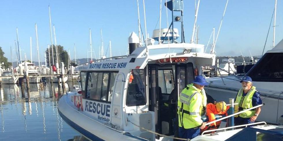Marine Rescue Base Visit Postponed