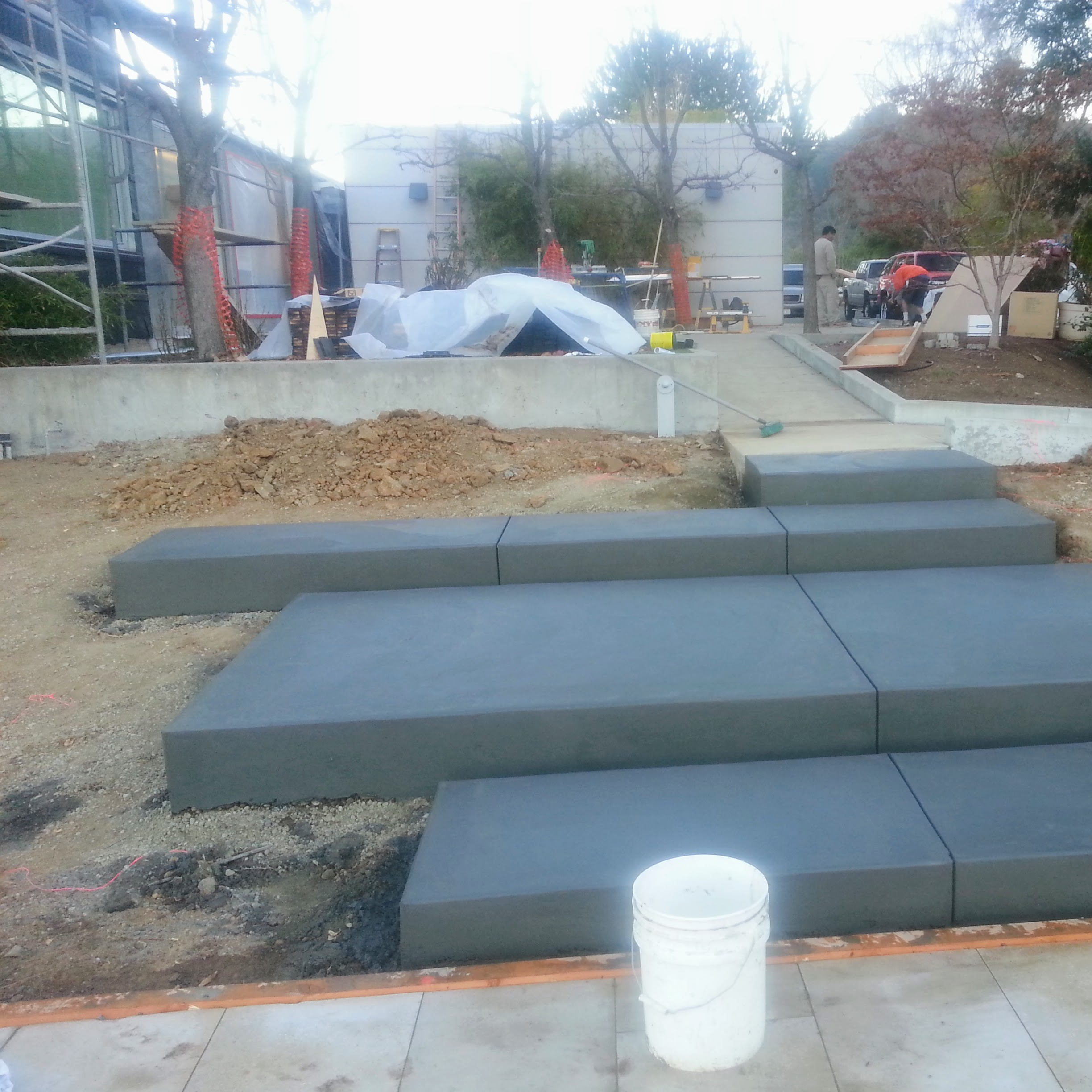 Los Gatos Modern Landscape Progress 2