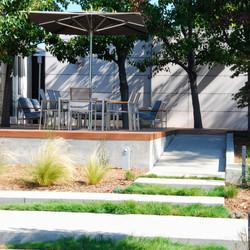 Los Gatos Modern Landscape Deck 1