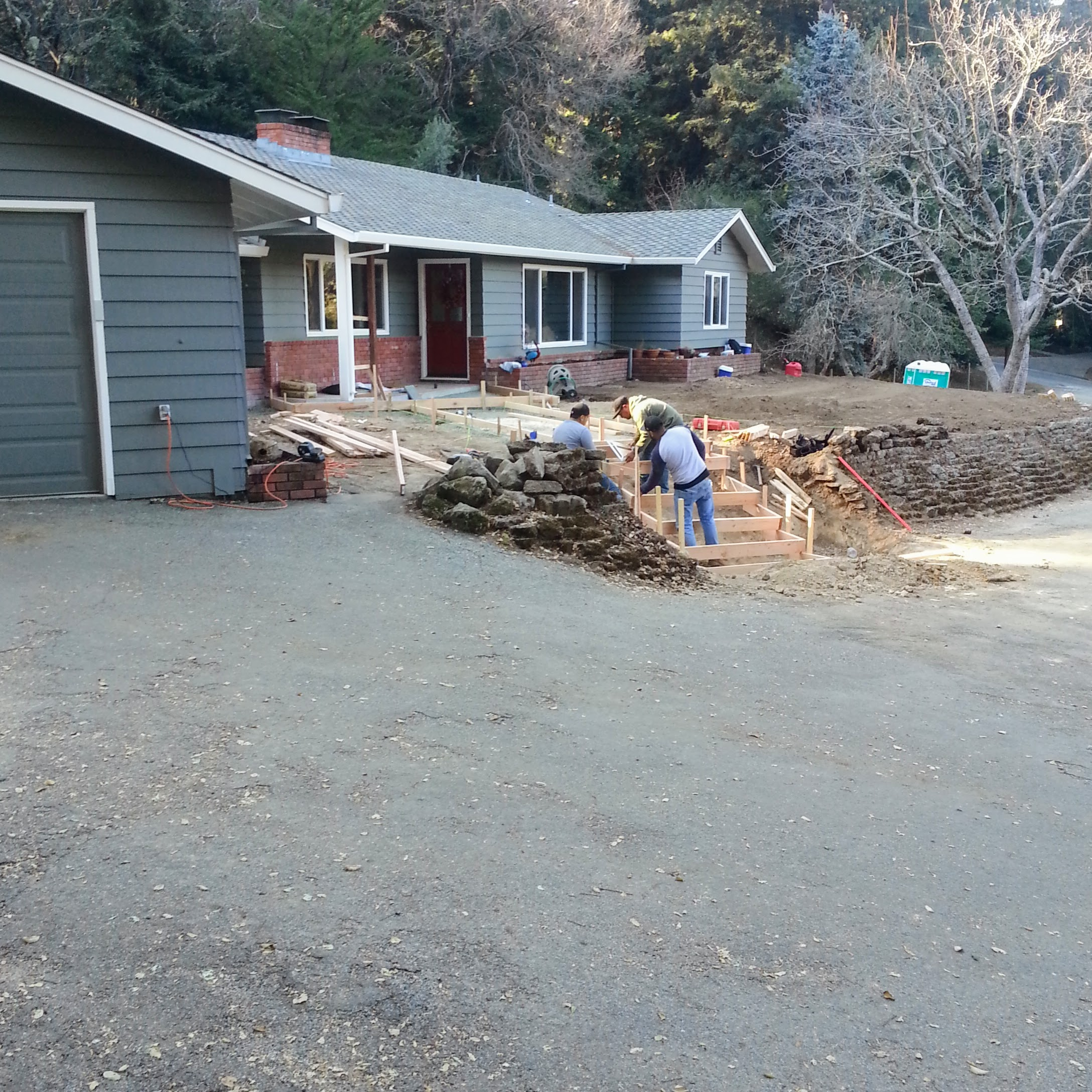 Los Gatos Santa Cruz Mointains Landscape Progress 1