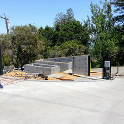 Los Gatos  California Modern Landscape Progress 1