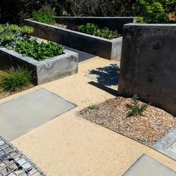 Los Gatos  California Modern Landscape Vegetable Garden 2
