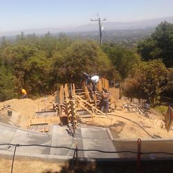 Los Gatos  California Modern Landscape Progress 11