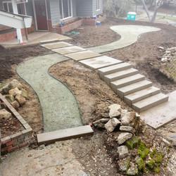 Los Gatos Santa Cruz Mointains Landscape Progress 4