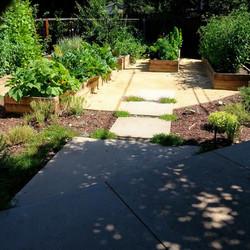 Mountain View Landscape Vegetable Garden Raised Beds