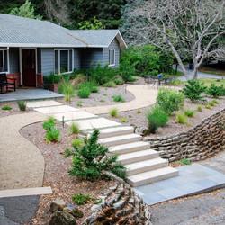 Los Gatos Santa Cruz Mointains Landscape Entry Walk 1