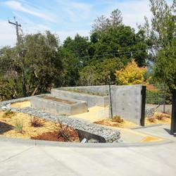 Los Gatos  California Modern Landscape Progress 2