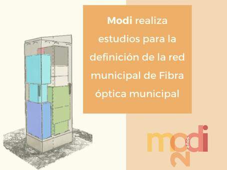 Estudios para la definición de la red municipal de Fibra óptica