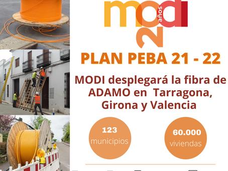 Modi trabaja para el desarrollo del PLAN PEBA 2021-2022