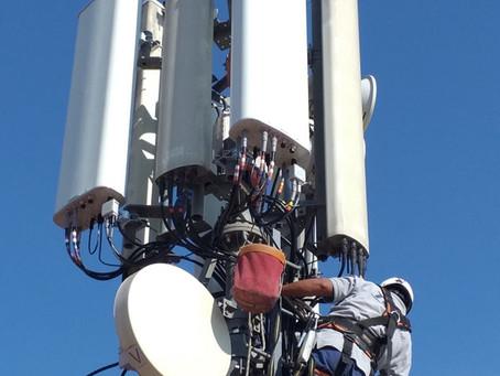 La instalación de emplazamientos de telecomunicaciones para Ibertel