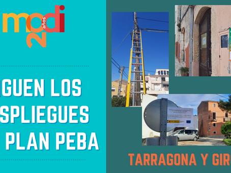 SIGUEN LOS DESPLIEGUES PEBA EN TARRAGONA Y GIRONA