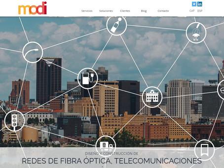 Nueva web de MODI