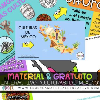 """INTERACTIVO """"CULTURAS DE MÉXICO"""""""