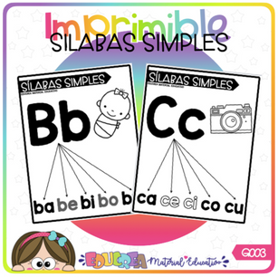 SILABAS SIMPLES