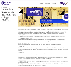 Lanzamiento nuevo centro de estudios del collage CECOLL