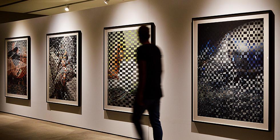 La difusión del arte: el collage en la galería