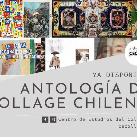 Antología reúne a 100 personas de todo Chile dedicadas al collage