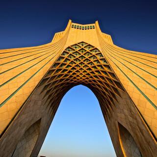 La tour d'Azadi