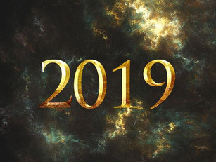 2019:  New Year, New Goals, New Hope