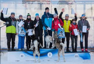 1-ое место скиджоринг