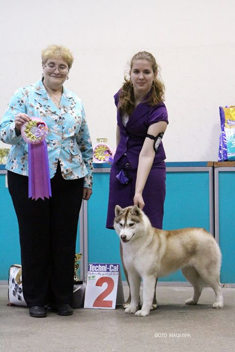 Serena (14 month) went BOB & BEST IN GROUP -2
