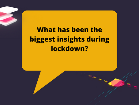 What has been the biggest SEO insights during lockdown?