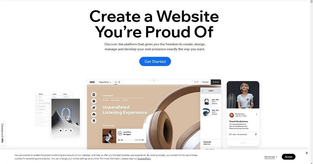 Wix CMS Websites