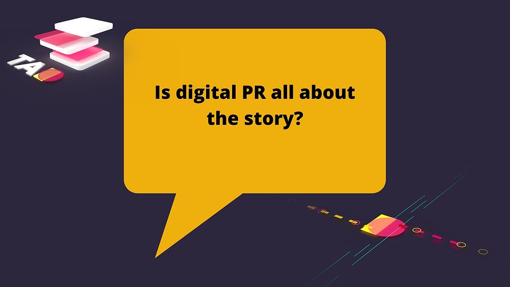 digital PR story