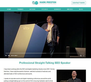 Mark Preston SEO Speaker