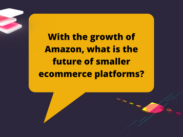 With the growth of Amazon, what is the future of smaller eCommerce platforms?
