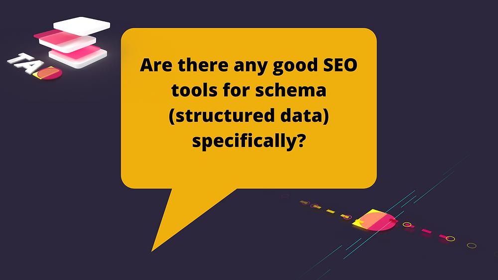 schema SEO tools